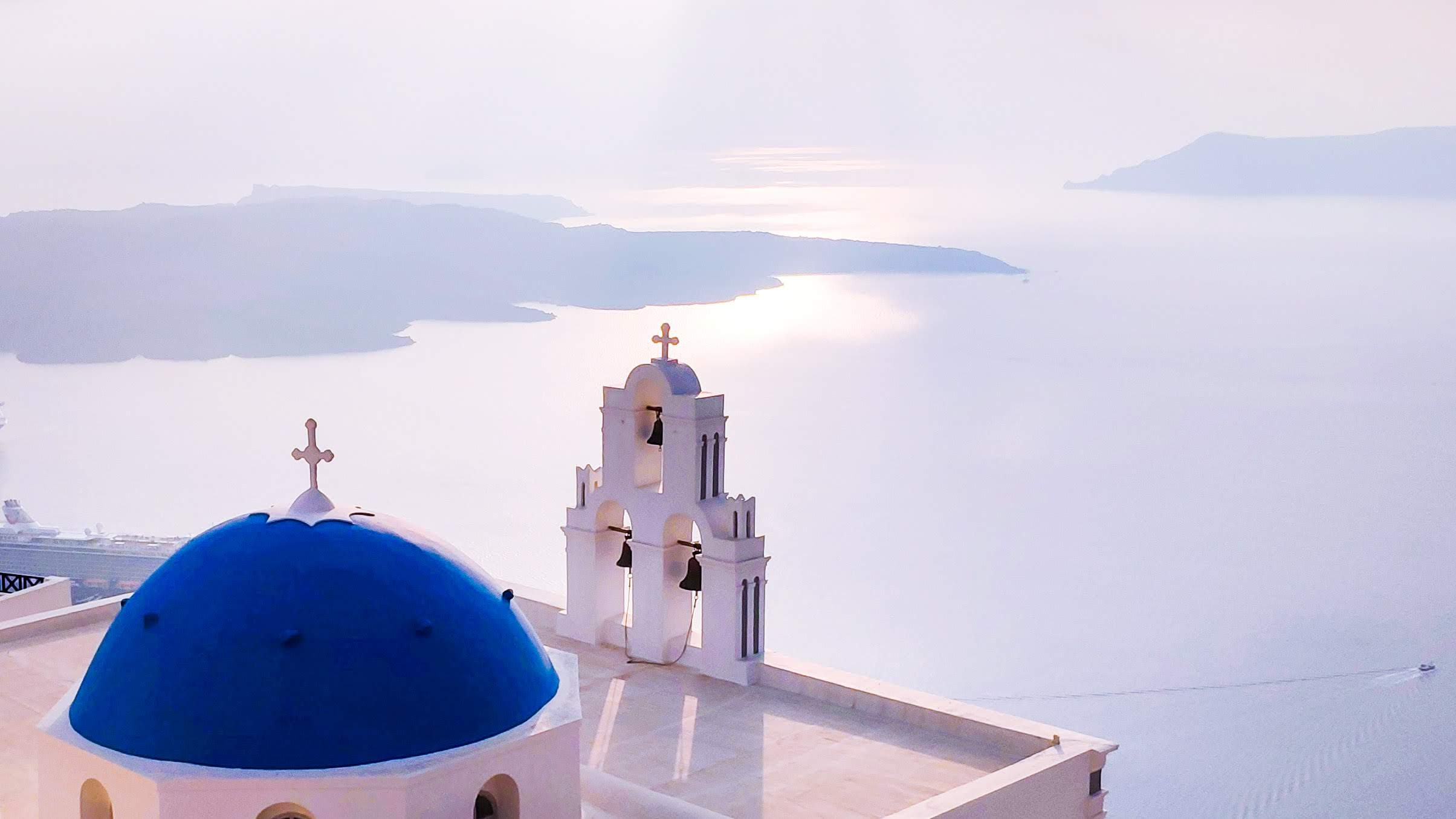 Greece: Blue meets white
