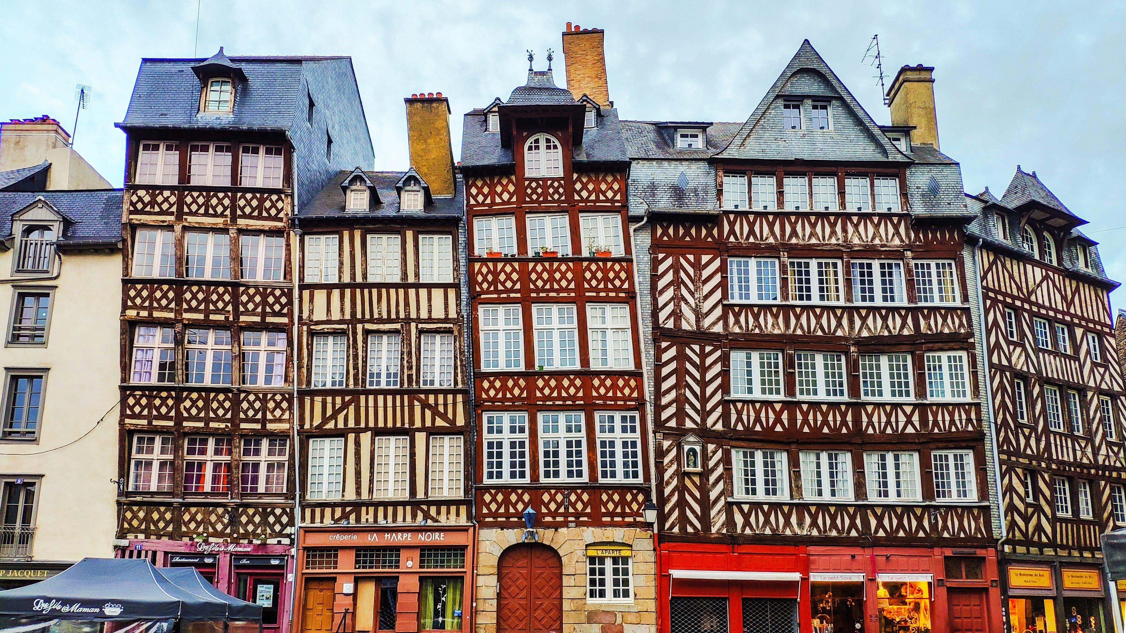 Villes de France: Bretagne, Normandie & Nord